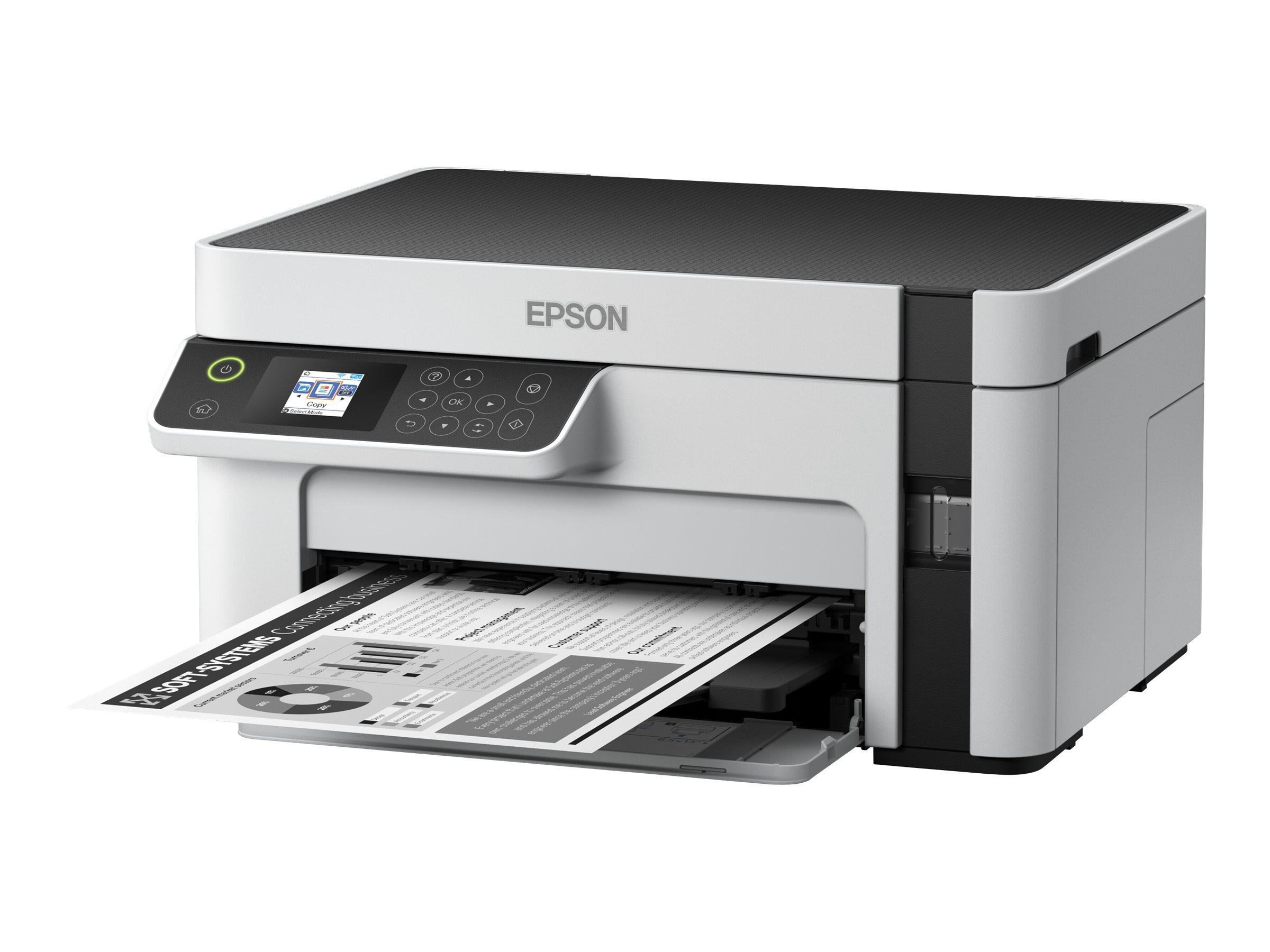 Epson EcoTank ET-M2120 - Multifunktionsdrucker - s/w - Tintenstrahl - A4/Legal (Medien) - bis zu 15 Seiten/Min. (Drucken)