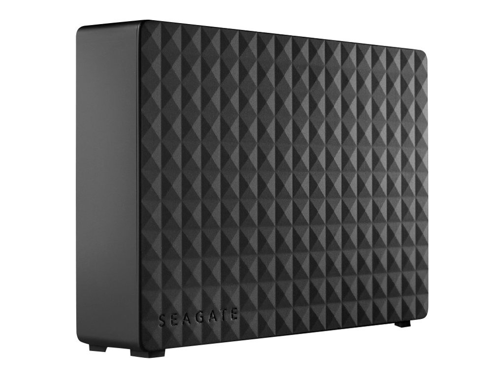 Seagate Expansion Desktop STEB10000400 - Festplatte - 10 TB - extern (Stationär) - USB 3.0 - Schwarz