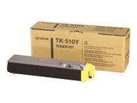 Kyocera TK 510Y - Gelb - Tonersatz - für FS-C5020, C5025, C5030