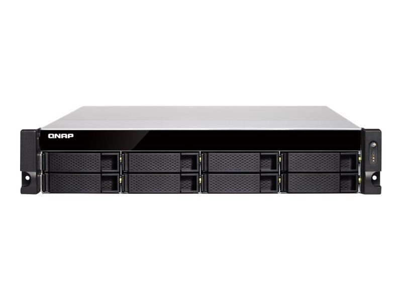 QNAP TVS-872XU - NAS-Server - 8 Schächte - Rack - einbaufähig - SATA 6Gb/s