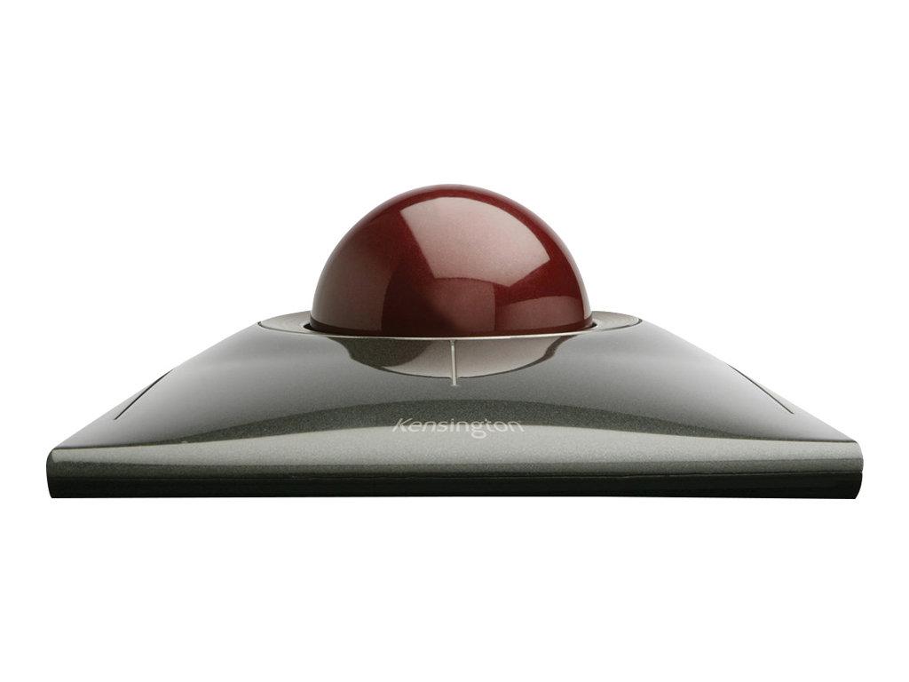 Kensington SlimBlade Trackball - Trackball - kabelgebunden - USB - Graphite, Rubinrot