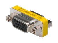ASSMANN - VGA-Kabel - HD-15 (VGA) (W) bis HD-15 (VGA) (W) - Daumenschrauben
