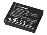 Panasonic DMW-BCM13E - Batterie - Li-Ion - 1250 mAh - für Lumix DC-FT7, TS7, DMC-FT5, FT6, TS6, TZ56, TZ58, TZ61, TZ70, TZ71, ZS