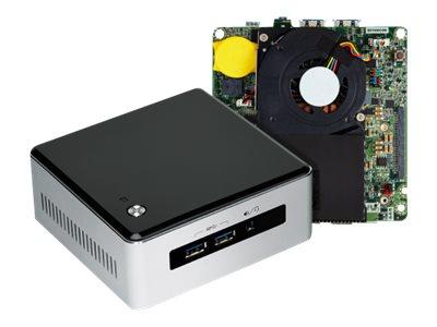 Intel Next Unit of Computing Kit NUC5i3MYHE - Barebone - Mini-PC - 1 x Core i3 5010U / 2.1 GHz - HD Graphics 5500 - GigE