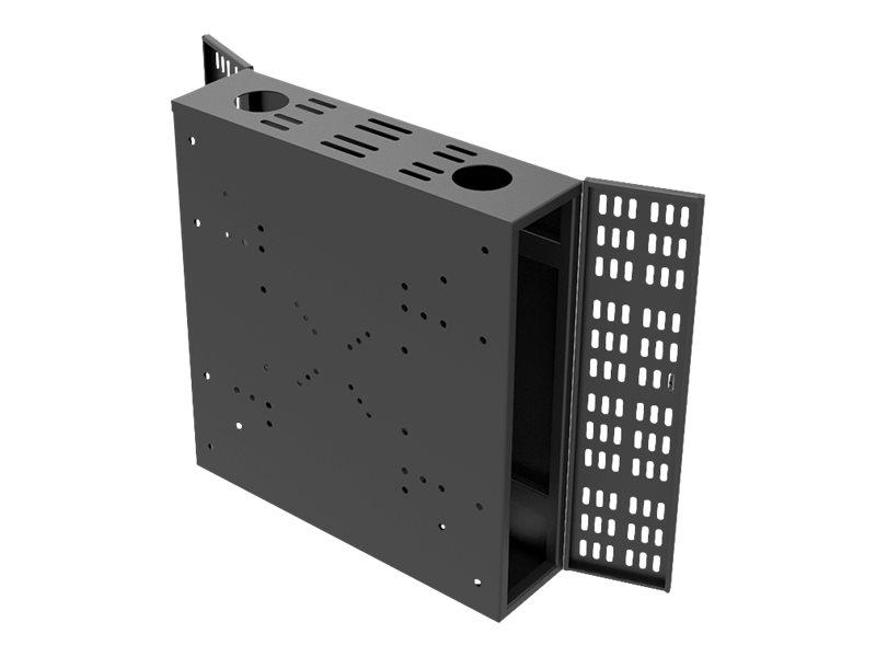 HAGOR M Public PC Box L - Gehäuse für LCD-Display/CPU - verriegelbar - Bildschirmgrösse: 81-140 cm (32
