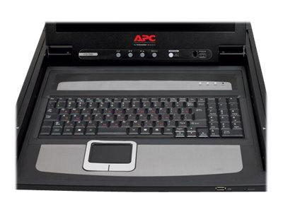 APC LCD Console - KVM-Konsole - 43.2 cm (17