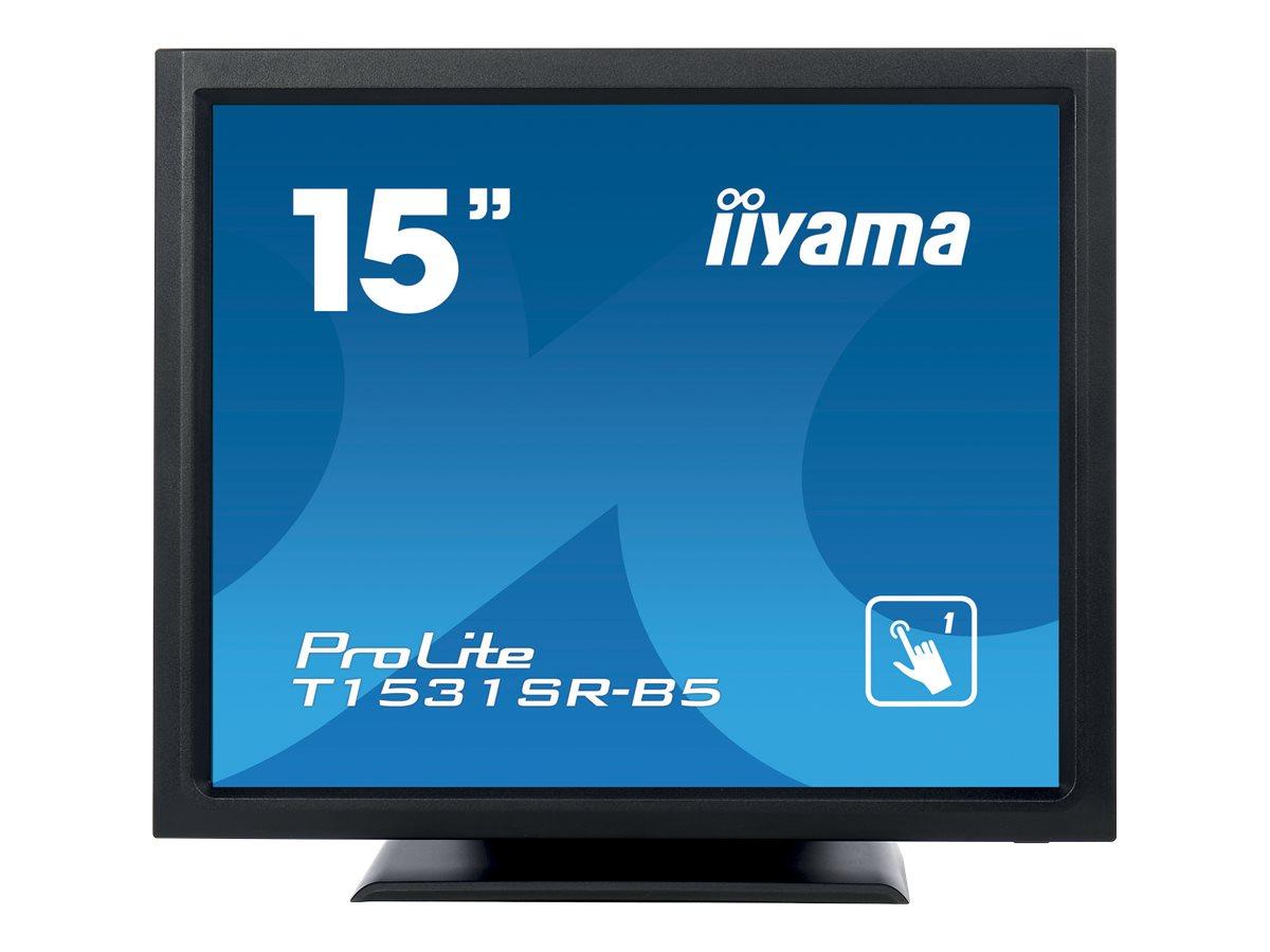 iiyama ProLite T1531SR-B5 - LED-Monitor - 38 cm (15