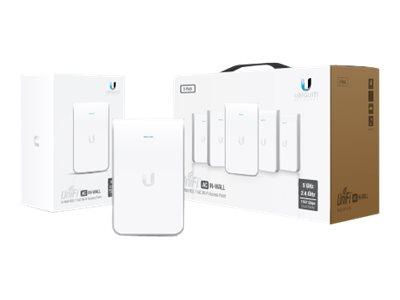 Ubiquiti Unifi UAP-AC-IW - Funkbasisstation - Wi-Fi - Dualband - Gleichstrom - Unterputz (Packung mit 5)