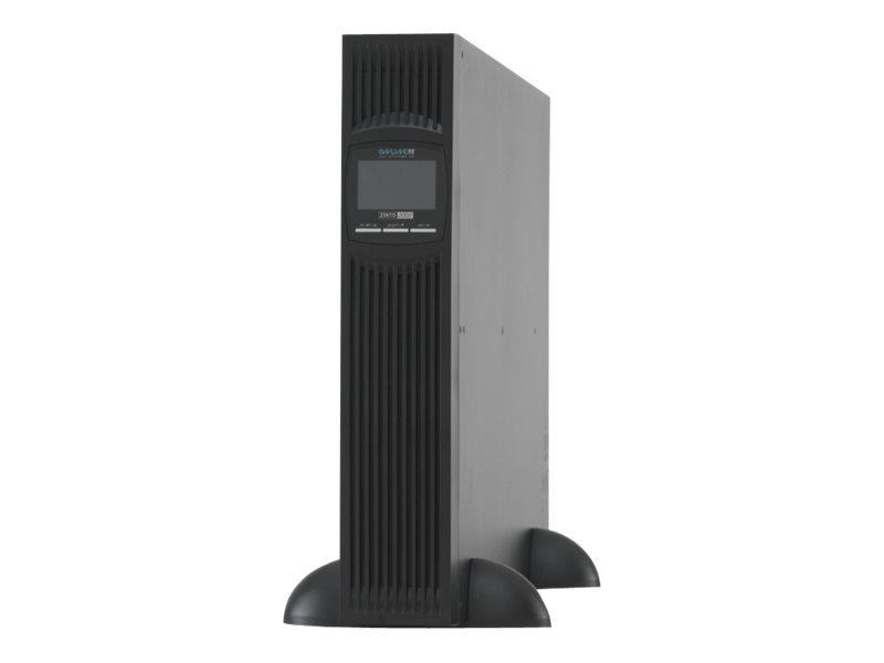 Online USV ZINTO A 2000 - USV (in Rack montierbar/extern) - Wechselstrom 230 V - 1800 Watt - 2000 VA - RS-232, USB