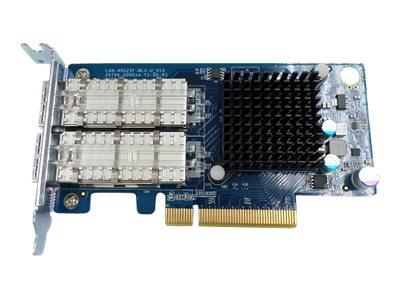 QNAP LAN-40G2SF-MLX - Netzwerkadapter - 40 Gigabit QSFP x 2 - für QNAP TS-879U-RP, TS-EC879U-RP, TS-EC880, TS-EC880U-RP