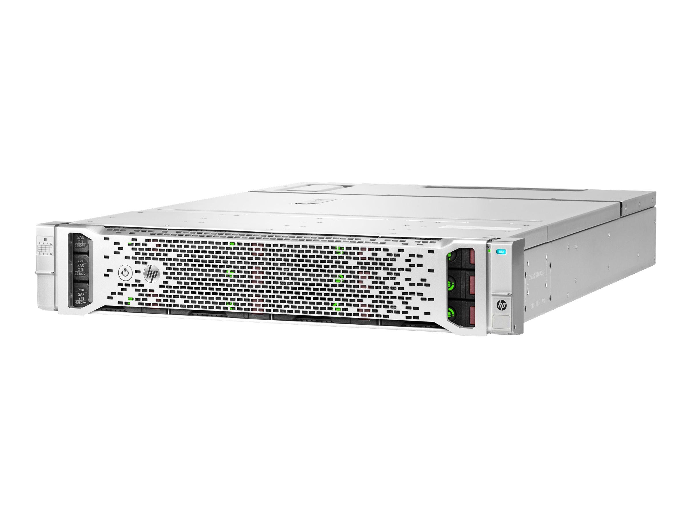 HPE D3600 - Speichergehäuse - 12 Schächte (SAS-3) - HDD 8 TB x 12 - Rack - einbaufähig