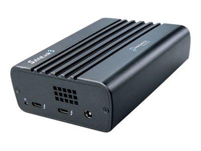 Promise SANLink3 F2 - Netzwerkadapter - Thunderbolt 3 - 16Gb Fibre Channel x 2 + Thunderbolt 3 / USB-C 3.1 x 2