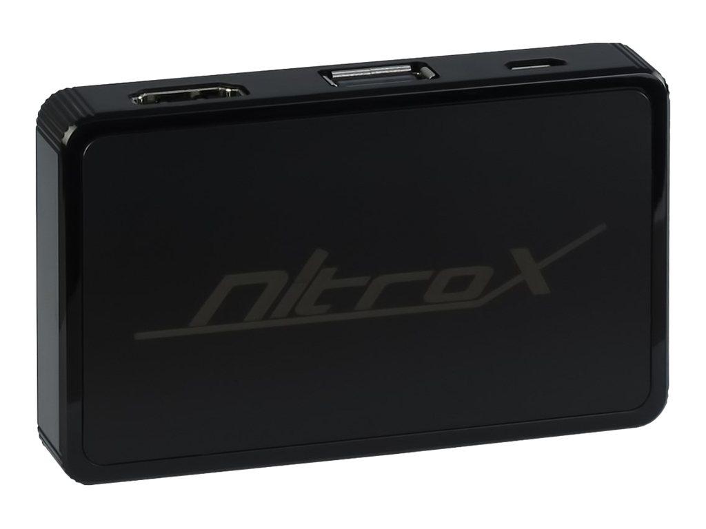 Inter-Tech MeeBox M200 - Netzwerkmedien-Streaming-Adapter - 802.11b/g/n