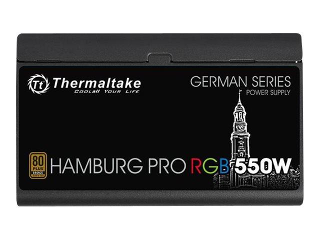 Thermaltake Hamburg Pro RGB W0592RE - Stromversorgung (intern) - ATX12V 2.4/ EPS12V 2.92 - 80 PLUS Bronze - Wechselstrom 100-240