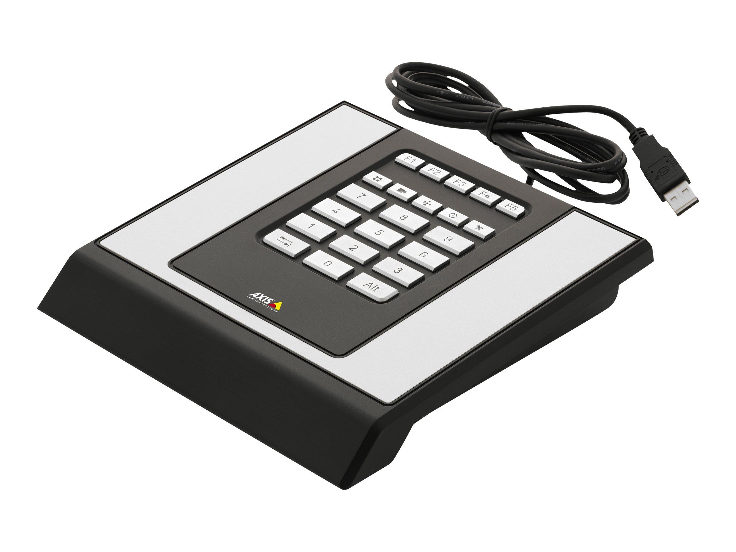 AXIS T8312 Video Surveillance Keypad - Tastenfeld - USB