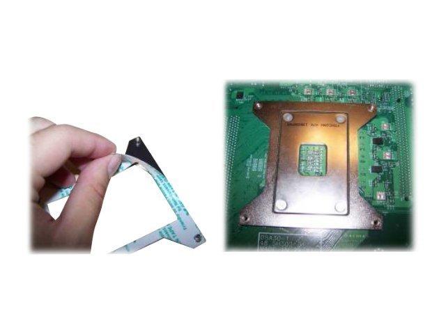 Supermicro - Prozessor-Rückwand - (für: LGA1366) - für SUPERMICRO C7X58, X8SAX, X8ST3-F, X8STE