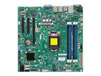 SUPERMICRO X10SLL+-F - Motherboard - micro ATX - LGA1150-Sockel - C222 - USB 3.0