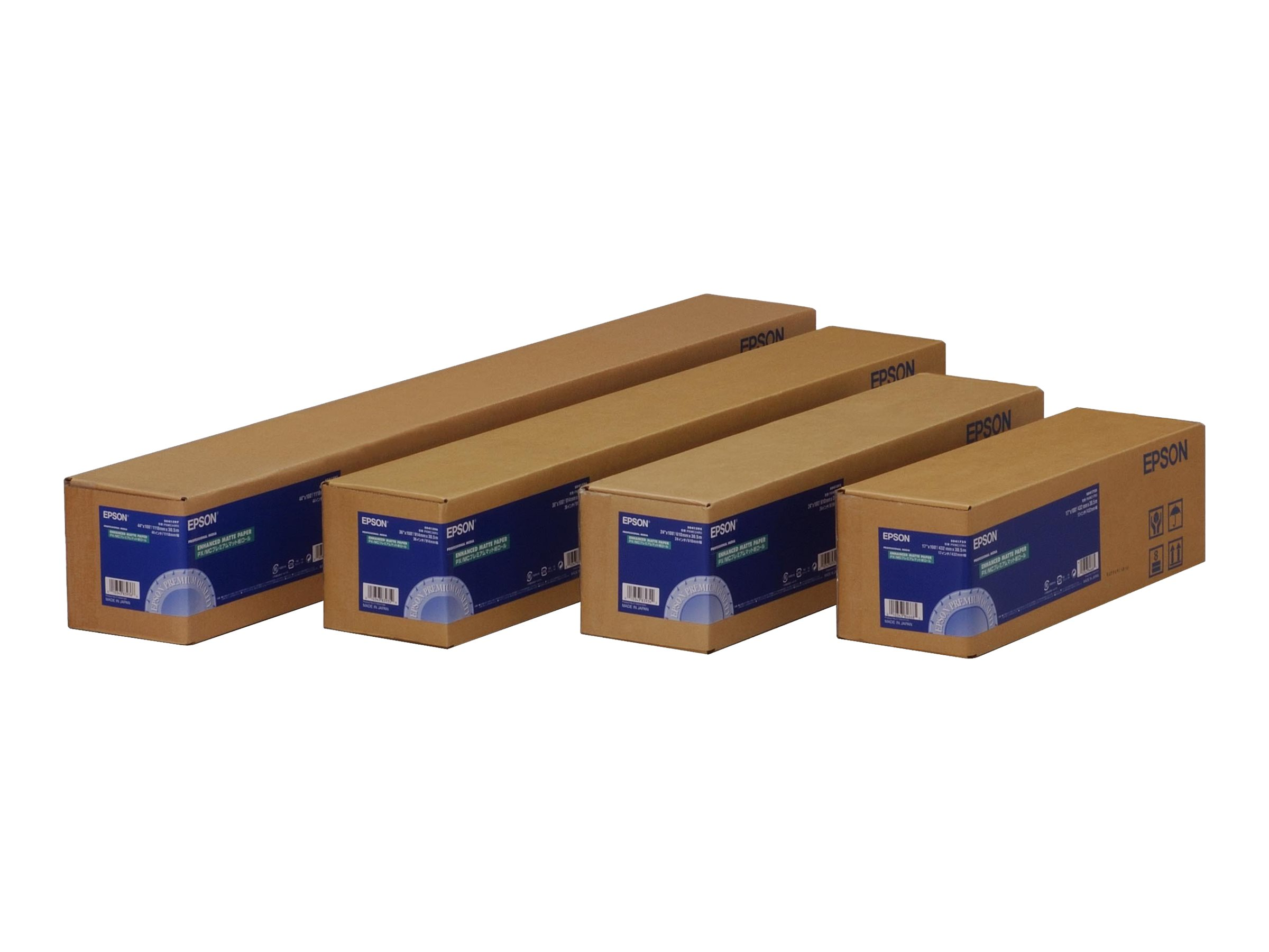 Epson Enhanced Matte - Matt - Rolle (43,2 cm x 30,5 m) - 189 g/m² - Papier - für Stylus Pro 4900 Spectro_M1; SureColor P5000, SC