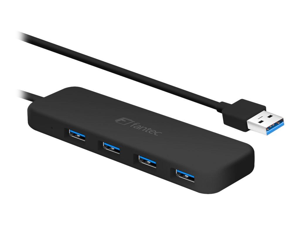 FANTEC UMP-4U - Hub - 4 x SuperSpeed USB 3.0 - Desktop