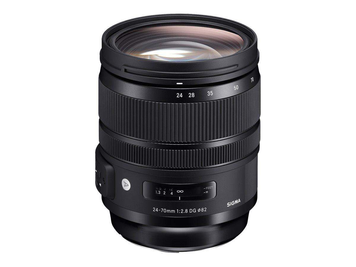 Sigma Art - Zoomobjektiv - 24 mm - 70 mm - f/2.8 DG OS HSM - Canon EF