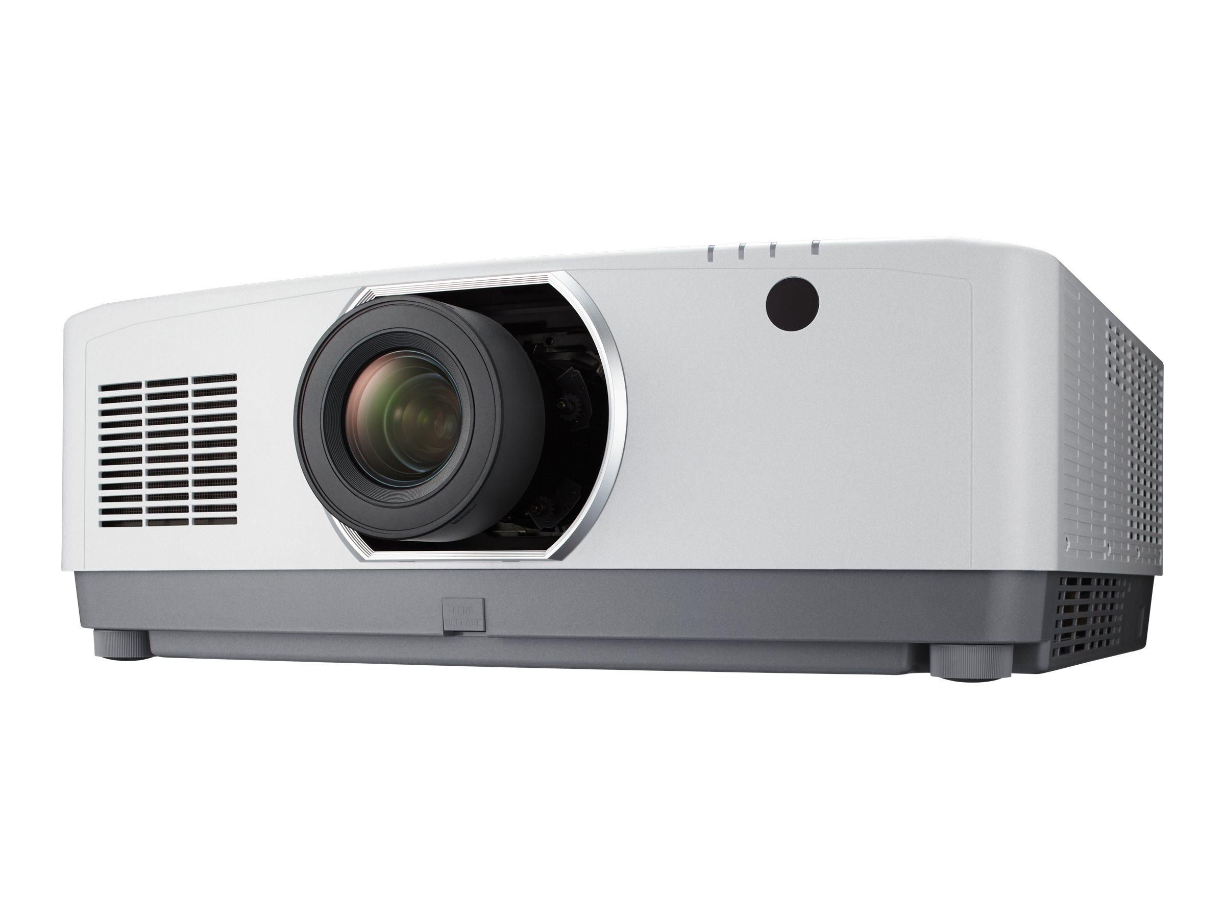 NEC PA803UL - 3-LCD-Projektor - 3D - 8000 ANSI-Lumen - WUXGA (1920 x 1200) - 16:10