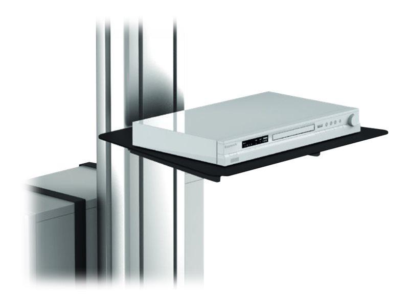 PureLink PureMounts DS PDS-1502 - Montagekomponente (Regal) für Blu-ray Disc Player - pulverbeschichteter Stahl - am Wagen monti