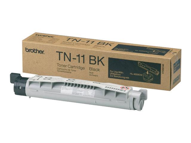 Brother TN11 - Schwarz - Original - Tonerpatrone - für Brother HL-4000CN