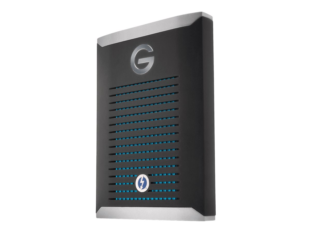 SanDisk Professional G-DRIVE PRO SSD - Solid-State-Disk - 2 TB - extern (tragbar) - Thunderbolt 3 (USB-C Steckverbinder)