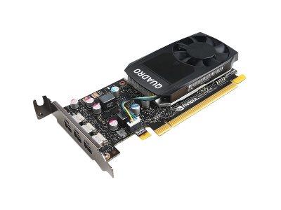 NVIDIA Quadro P400 - Grafikkarten - Quadro P400 - 2 GB GDDR5 Low-Profile - 3 x Mini DisplayPort - für ThinkStation P320 (SFF); P