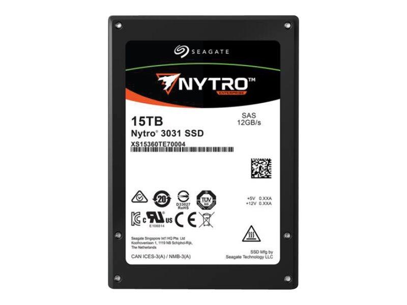 Seagate Nytro 3331 XS7680SE70014 - Solid-State-Disk - verschlüsselt - 7.68 TB - intern - 2.5