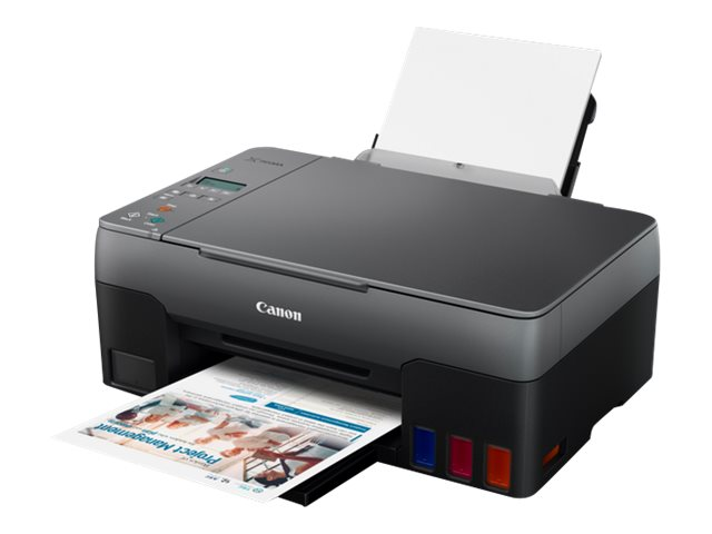 Canon PIXMA G2520 - Multifunktionsdrucker - Farbe - Tintenstrahl - refillable - A4 (210 x 297 mm), Letter A (216 x 279 mm) (Orig
