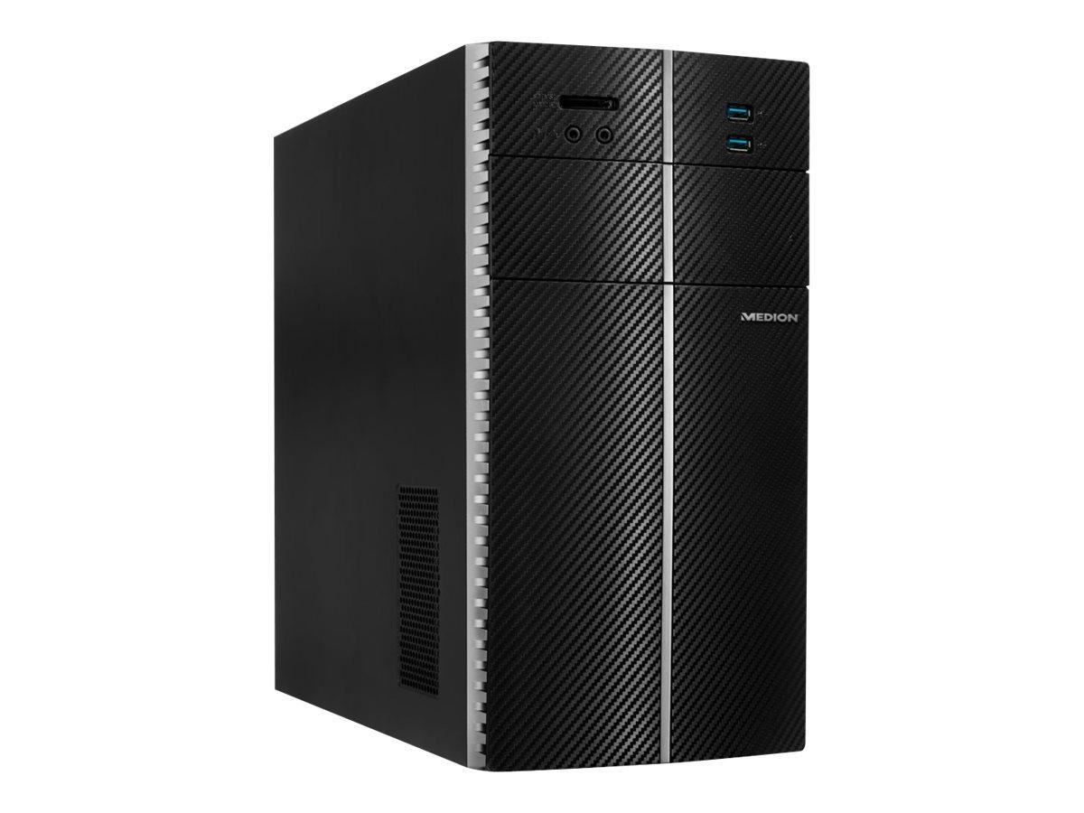 Medion Akoya E40008 - Tower - 1 x Pentium Silver J5005 / 1.5 GHz - RAM 8 GB - HDD 1 TB - DVD-Writer