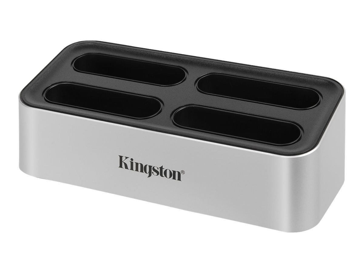 Kingston Workflow Station - Dockingstation - USB-C 3.2 Gen 2 - mit USB miniHub