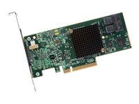 LSI MegaRAID SAS 9341-8i - Speichercontroller (RAID) - 8 Sender/Kanal - SATA 6Gb/s / SAS 12Gb/s Low-Profile - 12 Gbit/s - RAID 0