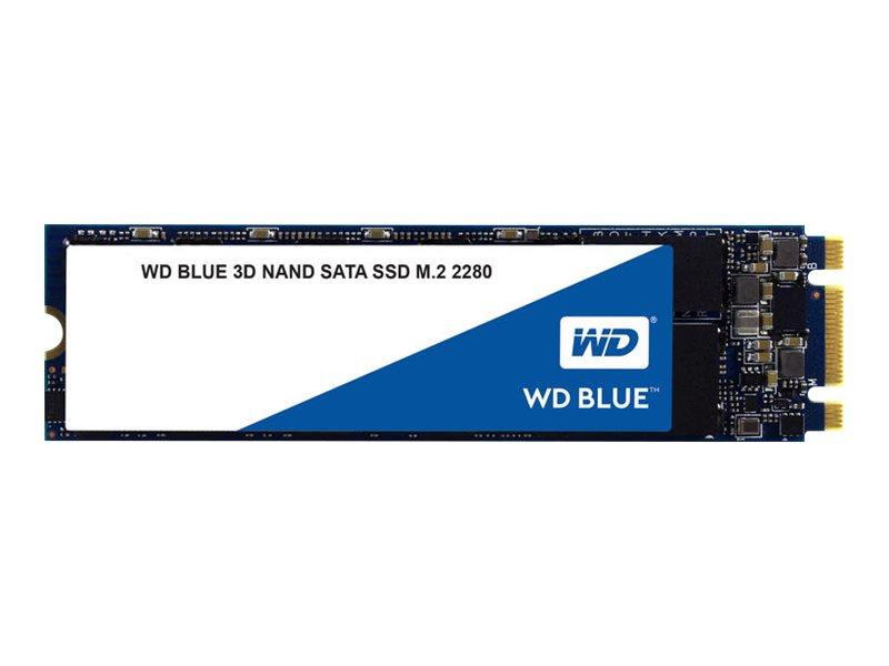 WD Blue 3D NAND SATA SSD WDS250G2B0B - Solid-State-Disk - 250 GB - intern - M.2 2280 - SATA 6Gb/s