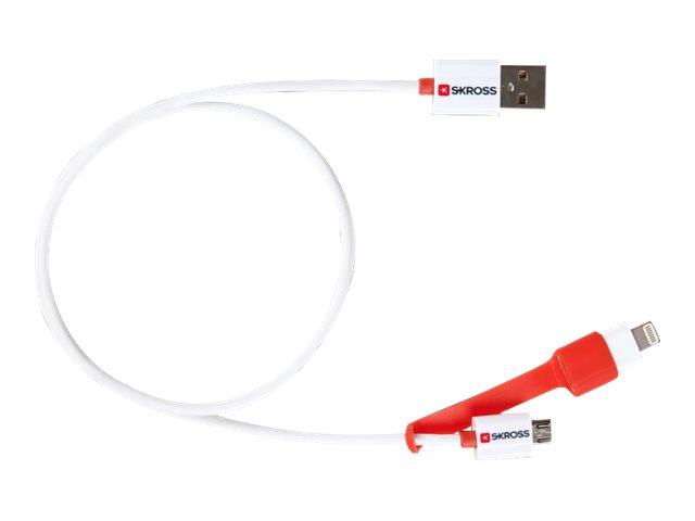 SKROSS - Lade- / Datenkabelset - Lightning / USB 2.0 - für Apple iPad/iPhone/iPod (Lightning)