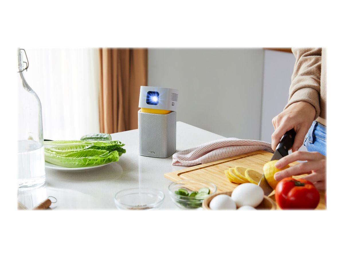 BenQ GV1 - DLP-Projektor - LED - 200 ANSI-Lumen - WVGA (854 x 480) - 16:9