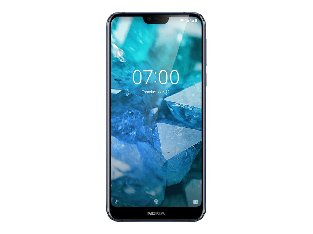 Nokia 7.1 - Android One - Smartphone - Dual-SIM - 4G LTE - 32 GB