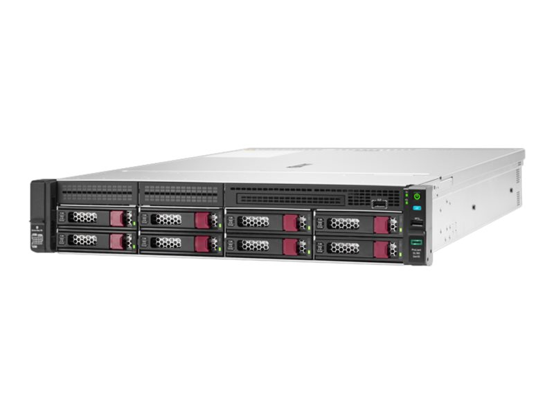 HPE ProLiant DL180 Gen10 - Server - Rack-Montage - 2U - zweiweg - 1 x Xeon Silver 4110 / 2.1 GHz
