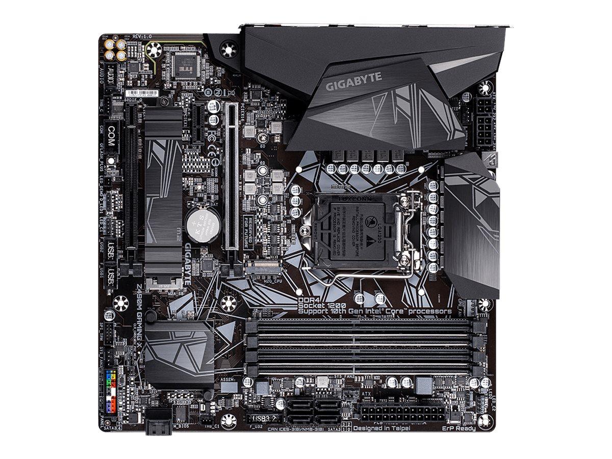 Gigabyte Z490M GAMING X - 1.0 - Motherboard - micro ATX - LGA1200-Sockel - Z490