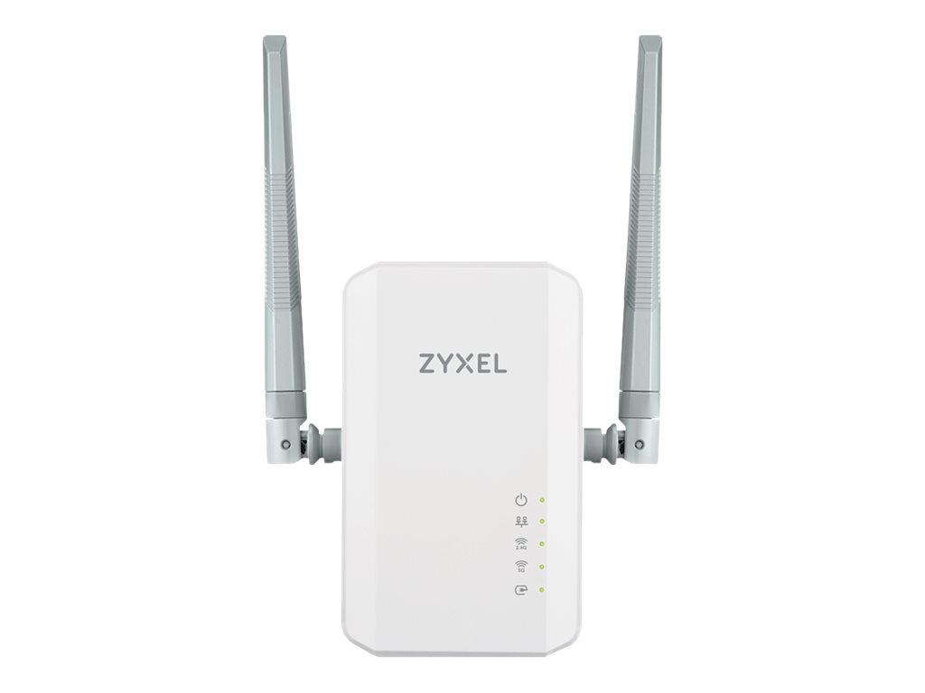 Zyxel PLA5236 - Bridge - GigE, HomePlug AV (HPAV) 2.0 - 802.11b/g/n/ac - Dual-Band - an Wandsteckdose anschliessbar