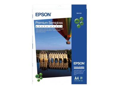 Epson Premium Semigloss Photo Paper - Halbglänzend - Roll A4 (21 cm x 10 m) - 251 g/m² - Fotopapier - für Stylus Pro 3880; Stylu
