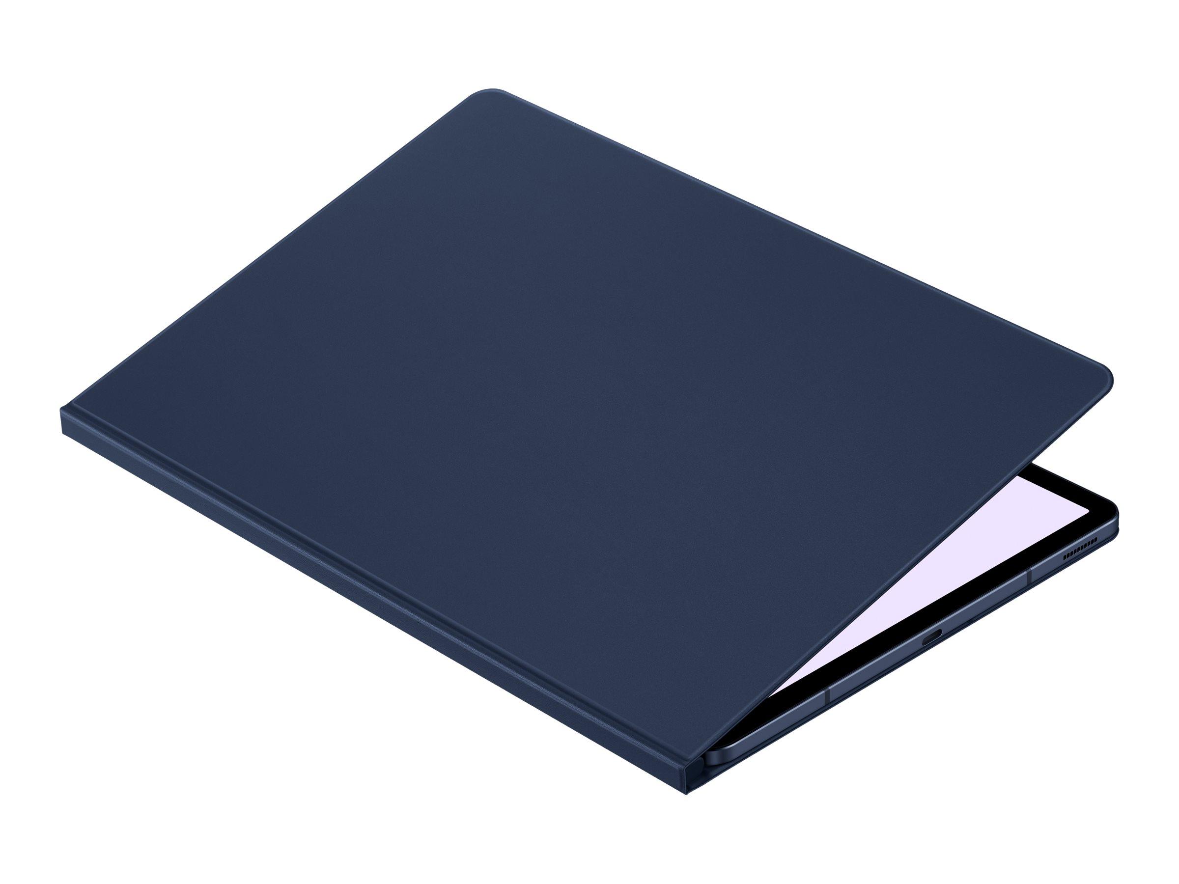 Samsung EF-BT730 - Flip-Hülle für Tablet - marineblau - für Galaxy Tab S7 FE, Tab S7+
