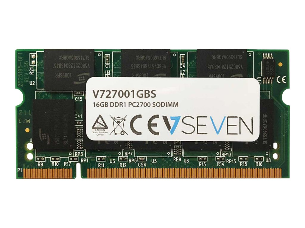 V7 - DDR - 1 GB - SO DIMM 200-PIN - 333 MHz / PC2700 - ungepuffert