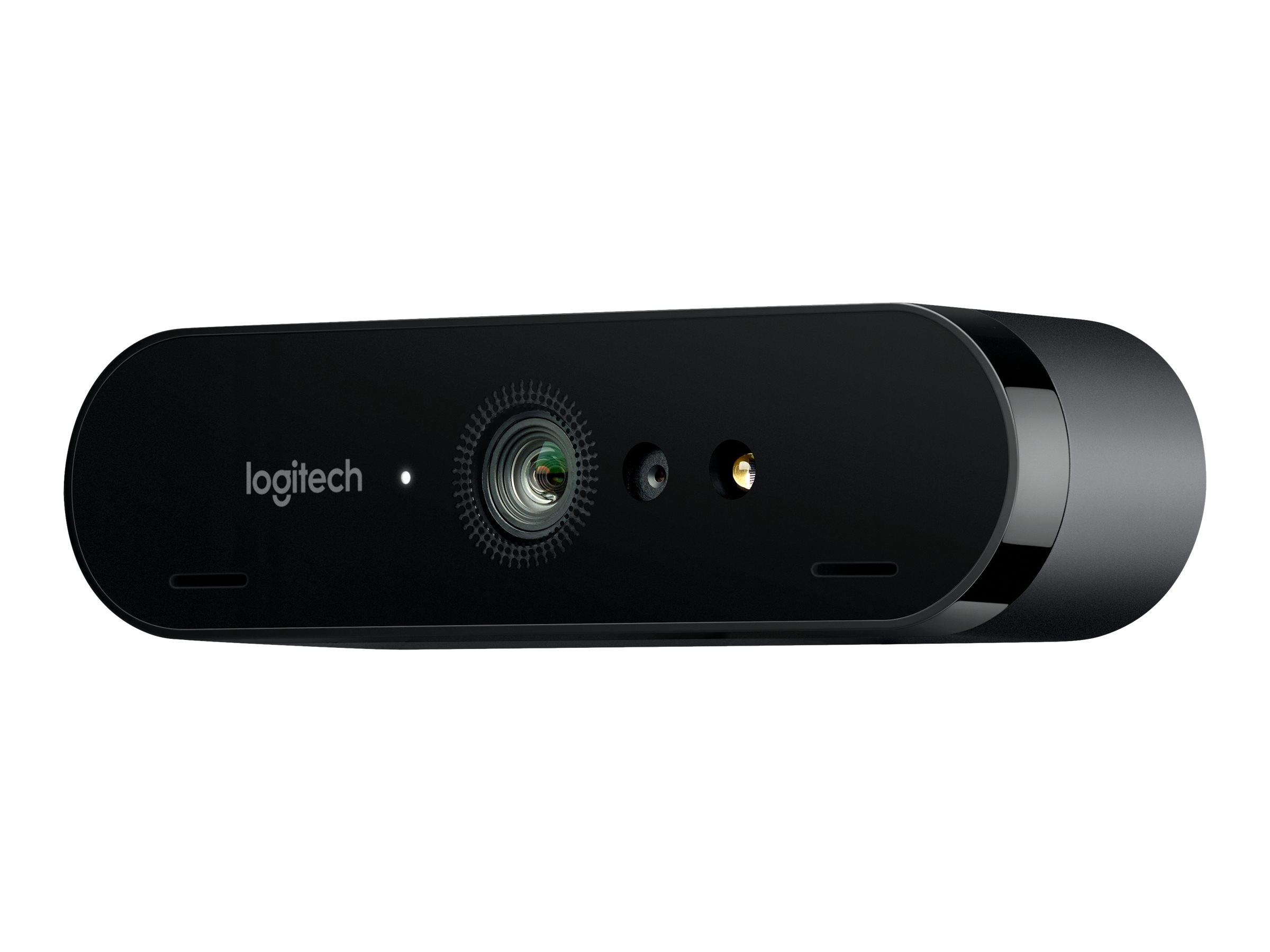 Logitech BRIO STREAM - Web-Kamera - Farbe - 4096 x 2160 - 1080p, 4K - Audio