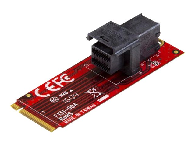 StarTech.com U.2 (SFF-8643) auf M.2 PCI Express 3.0 x4 Adapterkarte für 2,5