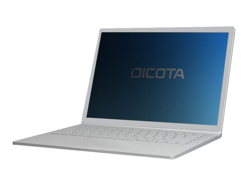 DICOTA Secret - Blickschutzfilter für Notebook - 2-Wege - Schwarz - für Microsoft Surface Go