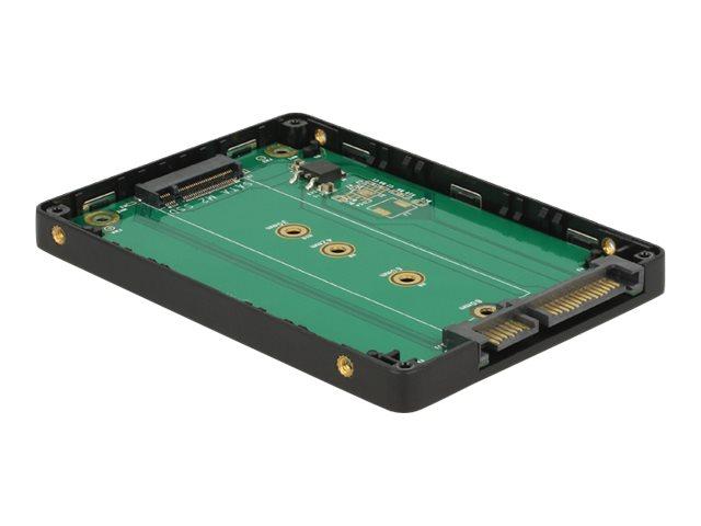 Delock Converter SATA 22 Pin to M.2 - Laufwerksschachtadapter - 2.5