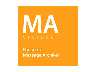 Barracuda Message Archiver 1050Vx Mirrored Cloud Storage - Abonnement-Lizenz (3 Jahre) - für P/N: BMAIV1050A