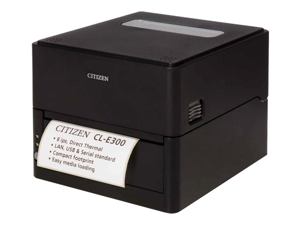 Citizen CL-E300 - Etikettendrucker - Thermodirekt - Rolle (11,8 cm) - 203 dpi - bis zu 200 mm/Sek.